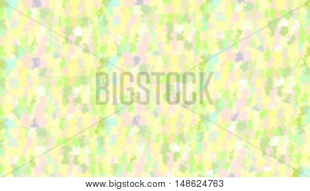 Abstract background of textured random swirls in soft pastel colors.