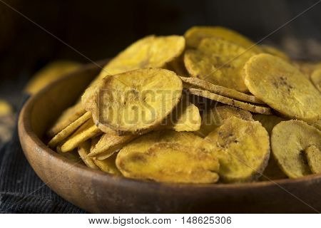 Healthy Homemade Plantain Chips