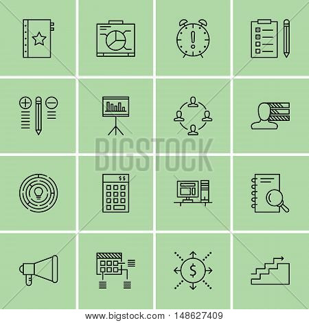Set Of Project Management Icons On Cash Flow, Promotion, Statistics And More. Premium Quality Eps10
