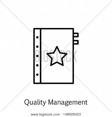 Vector Illustration Of Project Management Icon On Quality Management And Warranty In Trendy Flat Sty