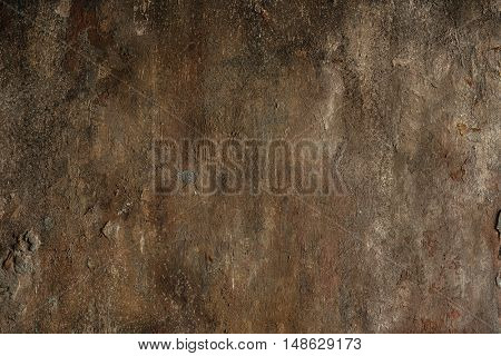 Rough concrete wall background close-up view