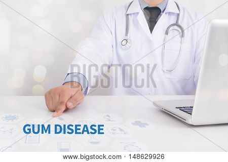 Gum Disease  Medical Concept Doctor