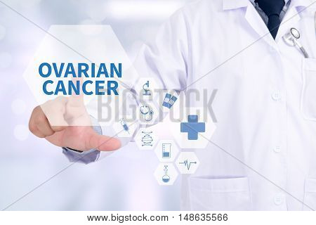 Ovarian Cancer Concept