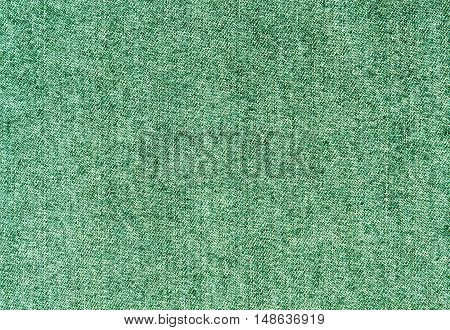 Green Jeans Cloth Pattern.
