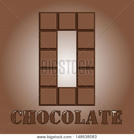The Number Of Bars Of Chocolate. Zero