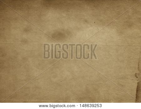 Aged brown paper background for the design.