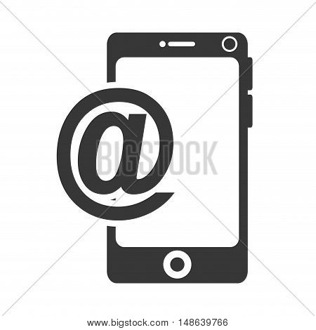 smartphone mobile phone. communication and technology device. vector illustration