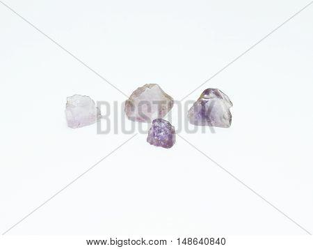 Violet Amethyst Stones