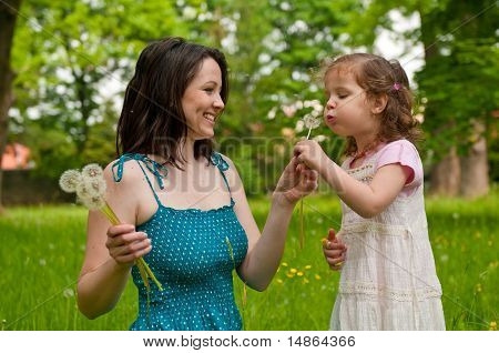 Happy Life Time - Mother With Child