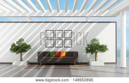 Exterior Of A Holiday Villa