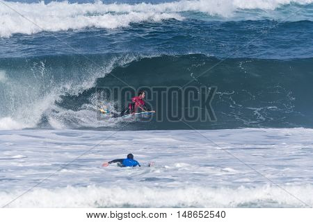 Kevin Orihuela (cry) During The Viana Pro
