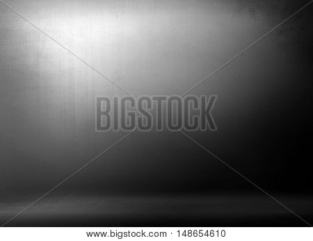 grey metal plate background