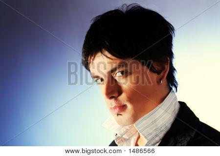 Elegant Fashion Man Model