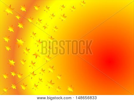 abstract orange abstract background suitable as a container or background