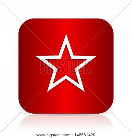 star red square modern design icon