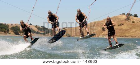 Muchacho wakeboard