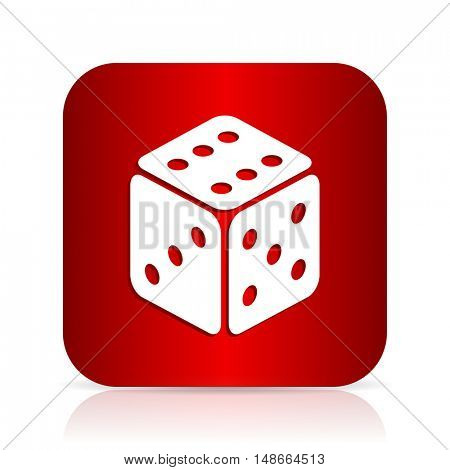 game red square modern design icon