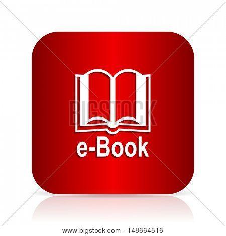 book red square modern design icon