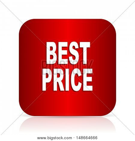 best price red square modern design icon