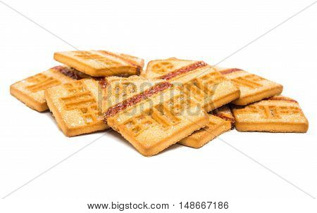 Cookie 'house' isolated on a white background
