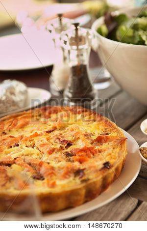 Plate of Quiche