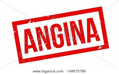 Angina Rubber Stamp