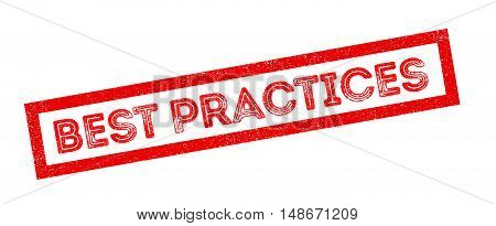 Best Practices Rubber Stamp