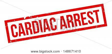 Cardiac Arrest Rubber Stamp