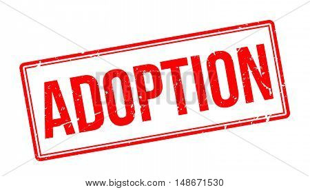Adoption Rubber Stamp