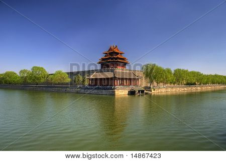 Forbidden City Guard Post Beijing