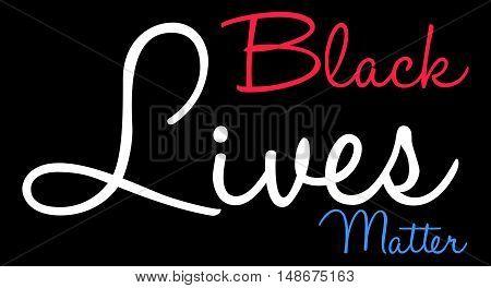 Black Lives Matter Word Cloud