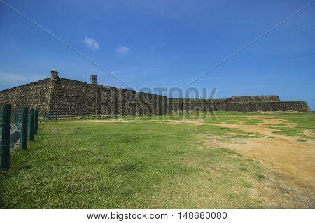 The beautiful historical Galle Fort (Sri Lanka)