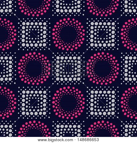 Colorful hand drawn geometric print. Vector seamless pattern with ethnic ornament for design textile, fabric, wrapping paper, package, wear, accessories.