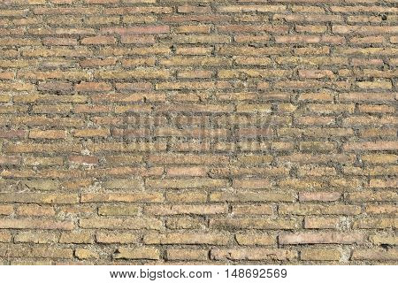 The old brick urban wall grunge background