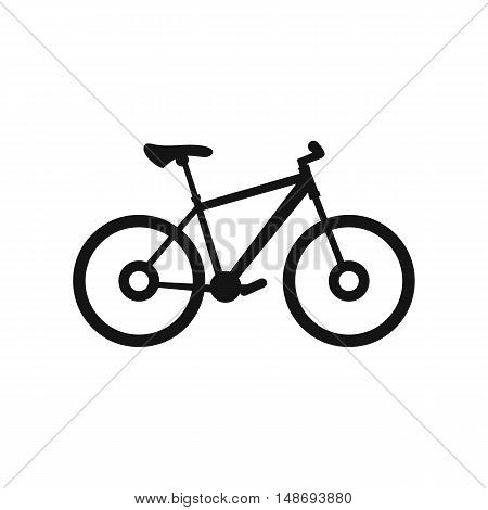 Bike icon in simple style on a white background vector illustration