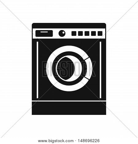 Washing machine icon in simple style on a white background vector illustration