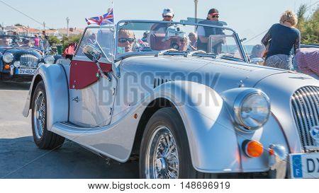 Parade Of Beautiful Old English Cars