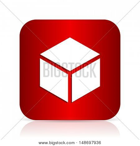 box red square modern design icon