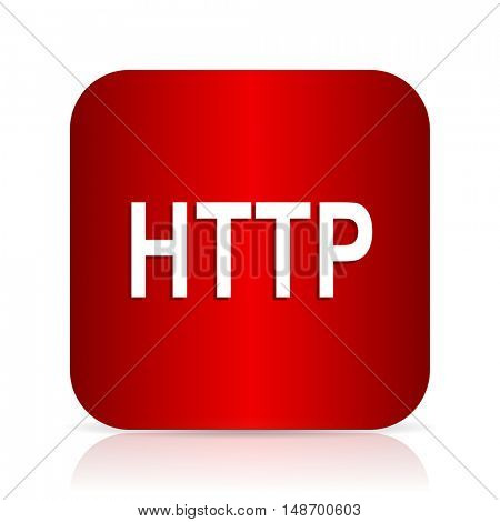 http red square modern design icon