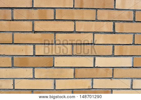 A brick wall can be a good background for posting something.