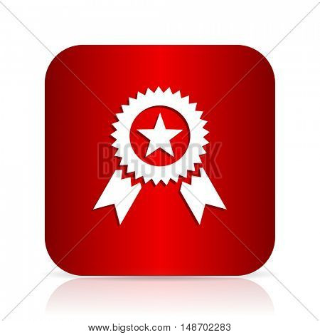 award red square modern design icon