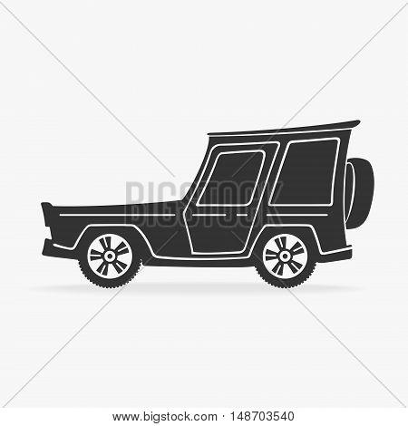 Vector Symbol Cross Car eps 8 file format
