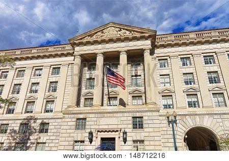 Department Of Commerce In Herbert Hoover Building