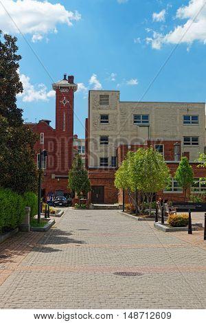 Kogan Plaza In The George Washington University Campus