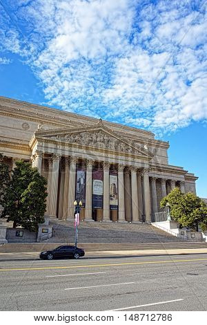 National Archives Building In Washington