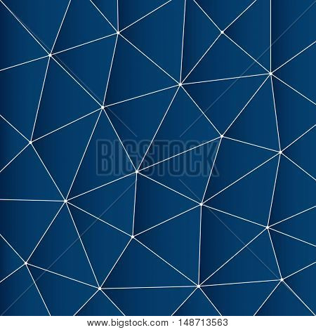 Abstract Modern Minimal Digital Network Connections, Technology Background Creative Design Template - Illustration in Vector Format