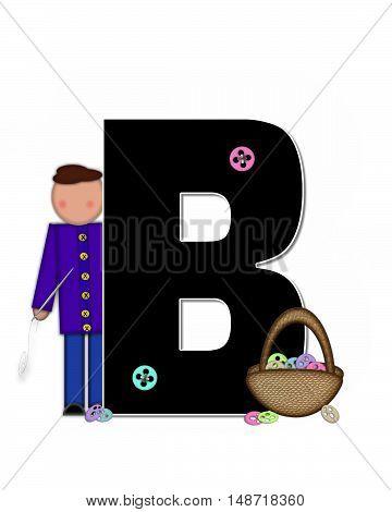 Alphabet Children Sewing B
