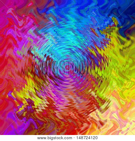 Abstract coloring background of the abstract gradient with visual wave,lighting and zigzag effects.Good for your project design