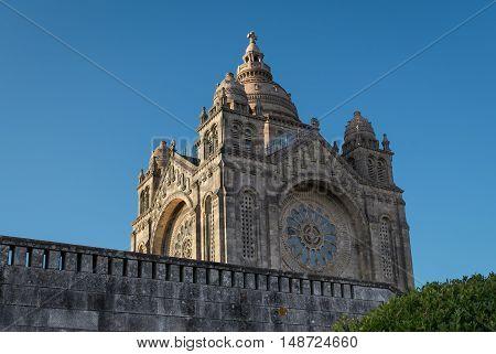 Santa Luzia Basilic in Viana do Castelo (North Portugal Minho).