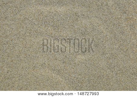 Coast beach moving water and sand surface background.